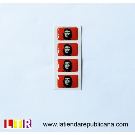 Pegatina de resina Che Guevara
