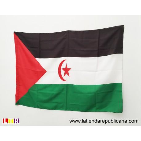Bandera Saharaui. República Saharahui