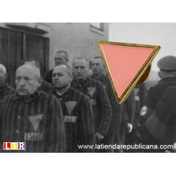Pin Triángulo Rosa
