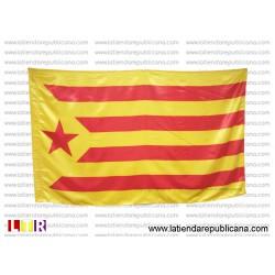 Senyera Catalana Estelada Vermella