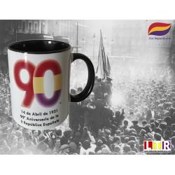 Taza del 90 Aniversario Segunda República