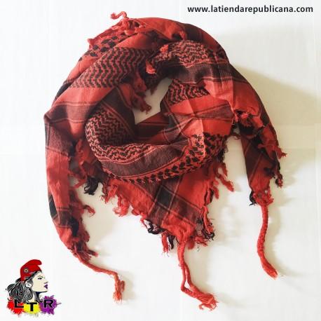 Pañuelo Palestino Rojo/negro