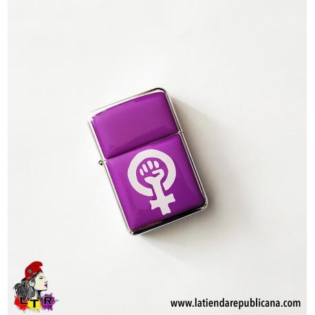 Mechero Zippo Feminista