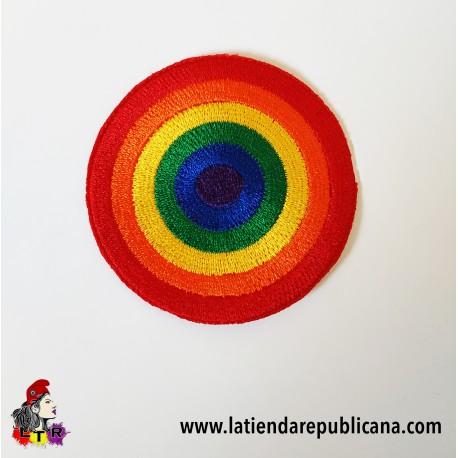 Parche Redondo LGTBI orgullo