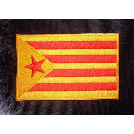 Parche Bandera Estelada Vermella