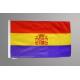 Bandera Republicana Económica con escudo