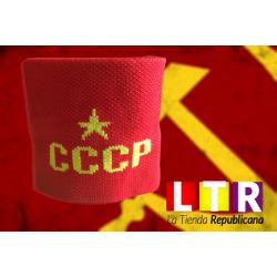 Muñequera Roja CCCP