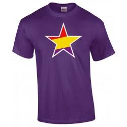 Camiseta Morada Estrella Republicana