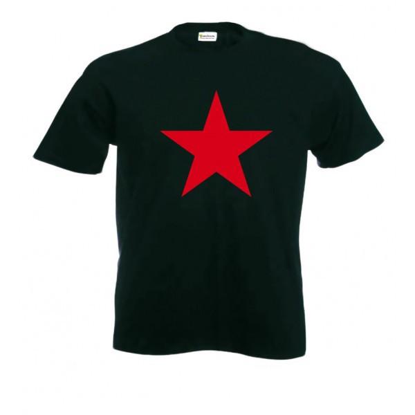 significado de la estrella roja y negra