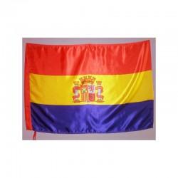 Bandera Republicana Pequeña (con escudo)