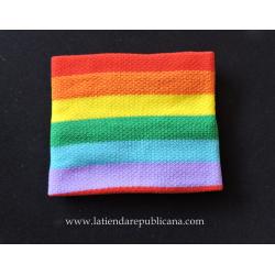 Muñequera LGBT Arco Iris